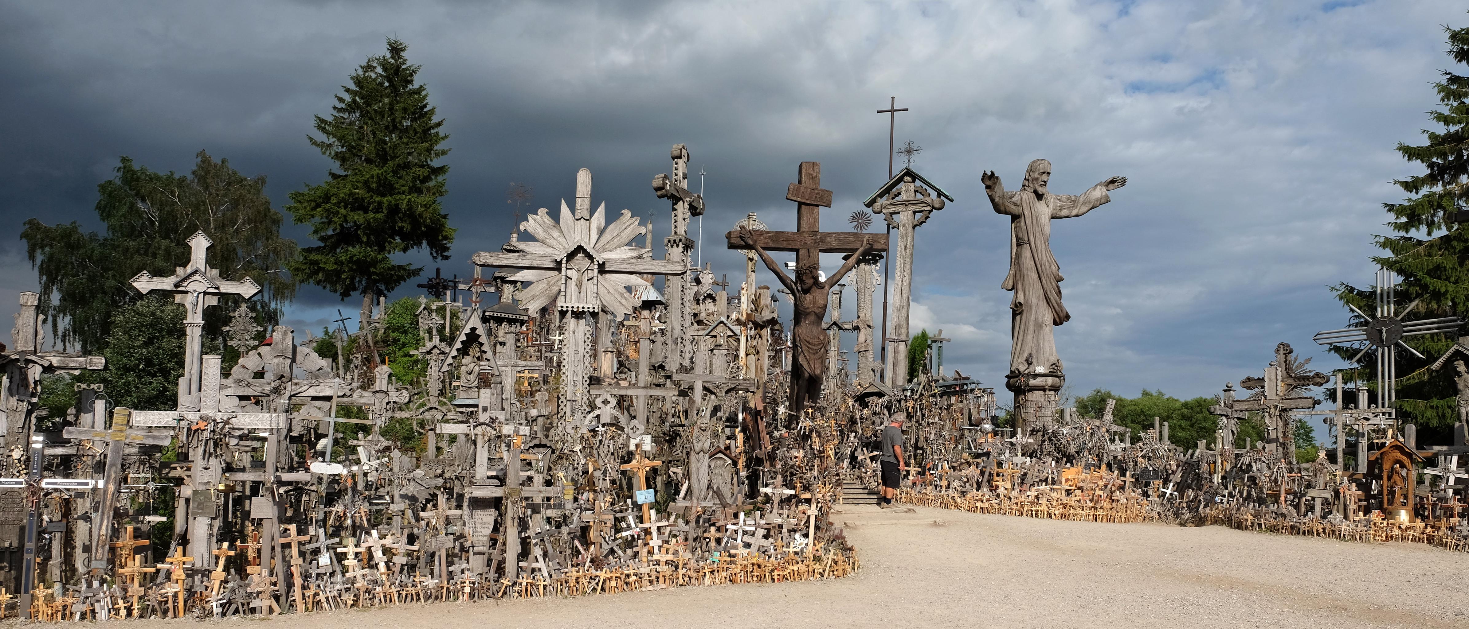 Berg der Kreuze/Litauen
