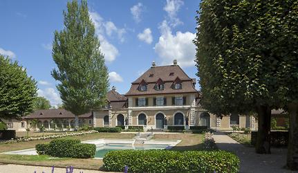 Die Villa des Antikenfreundes René Clavel