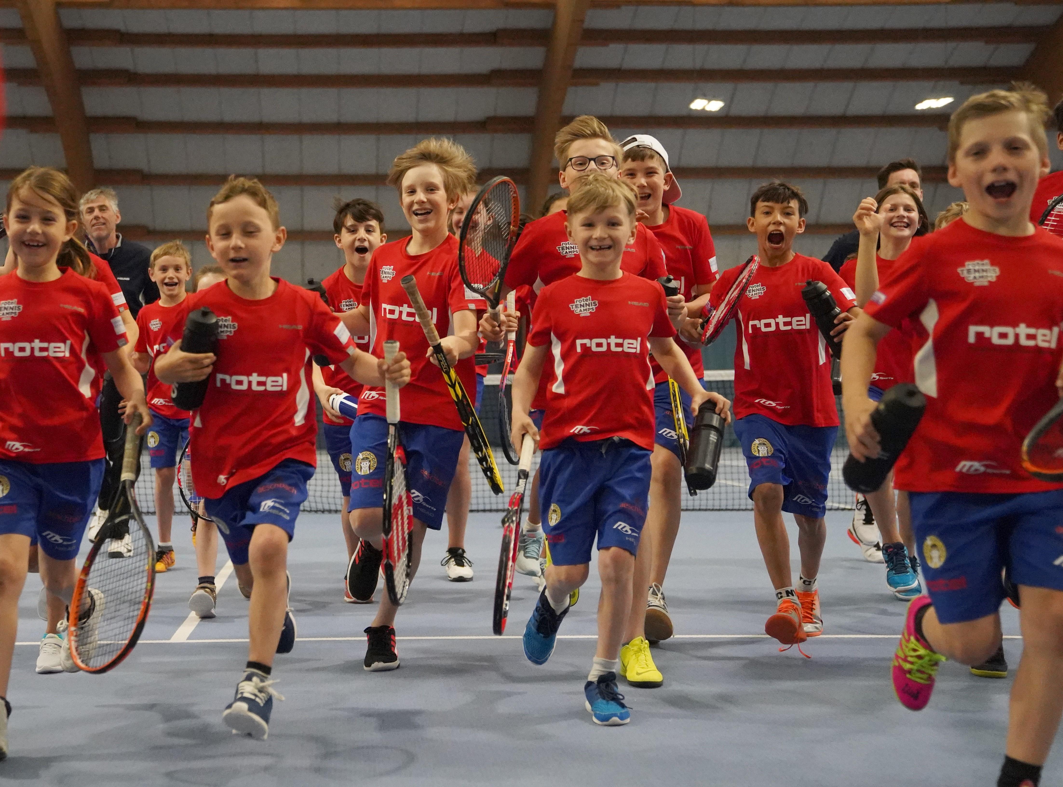 Tenniscamp in Birrhard (AG)