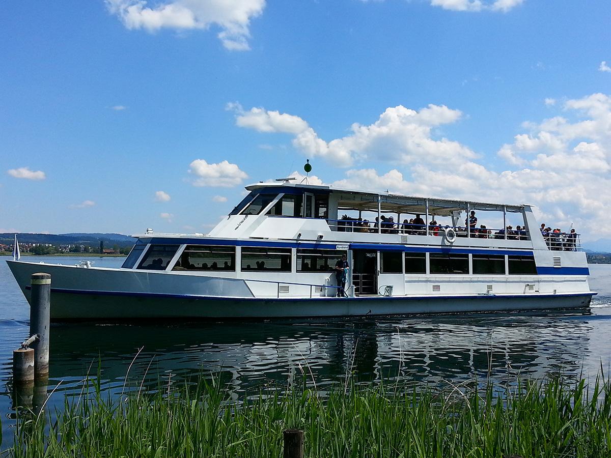 Schiff auf Greifensee © www.greifensee-der-see.ch