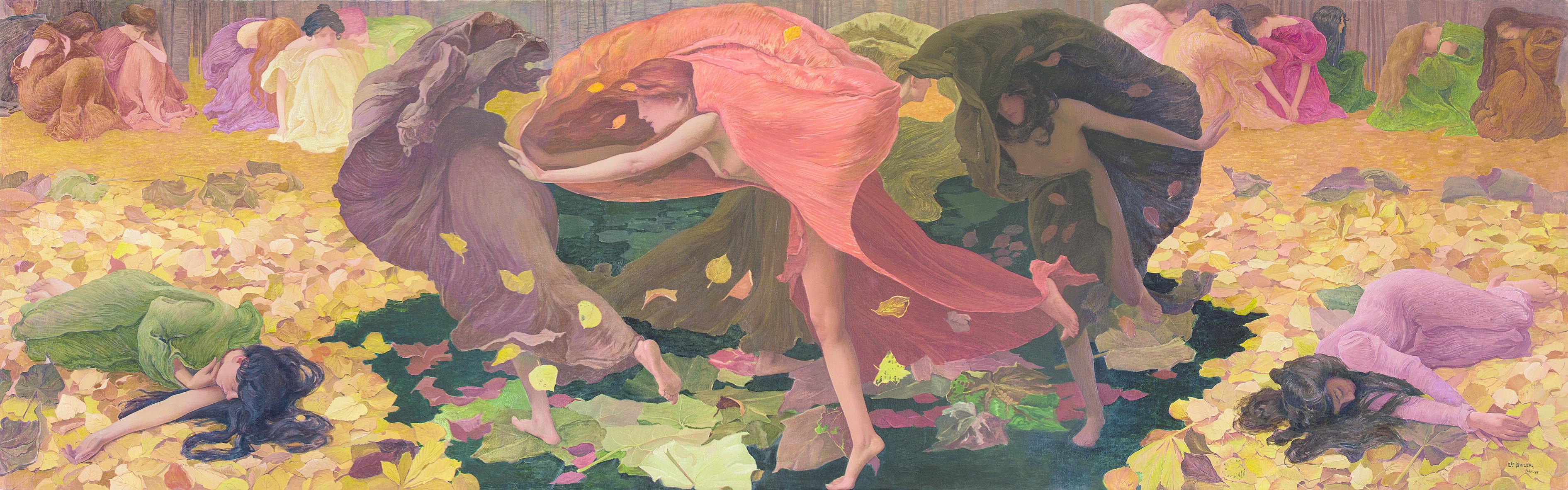 Feuilles mortes. Gemälde des 19. und 20. Jahrhunderts aus der Sammlung