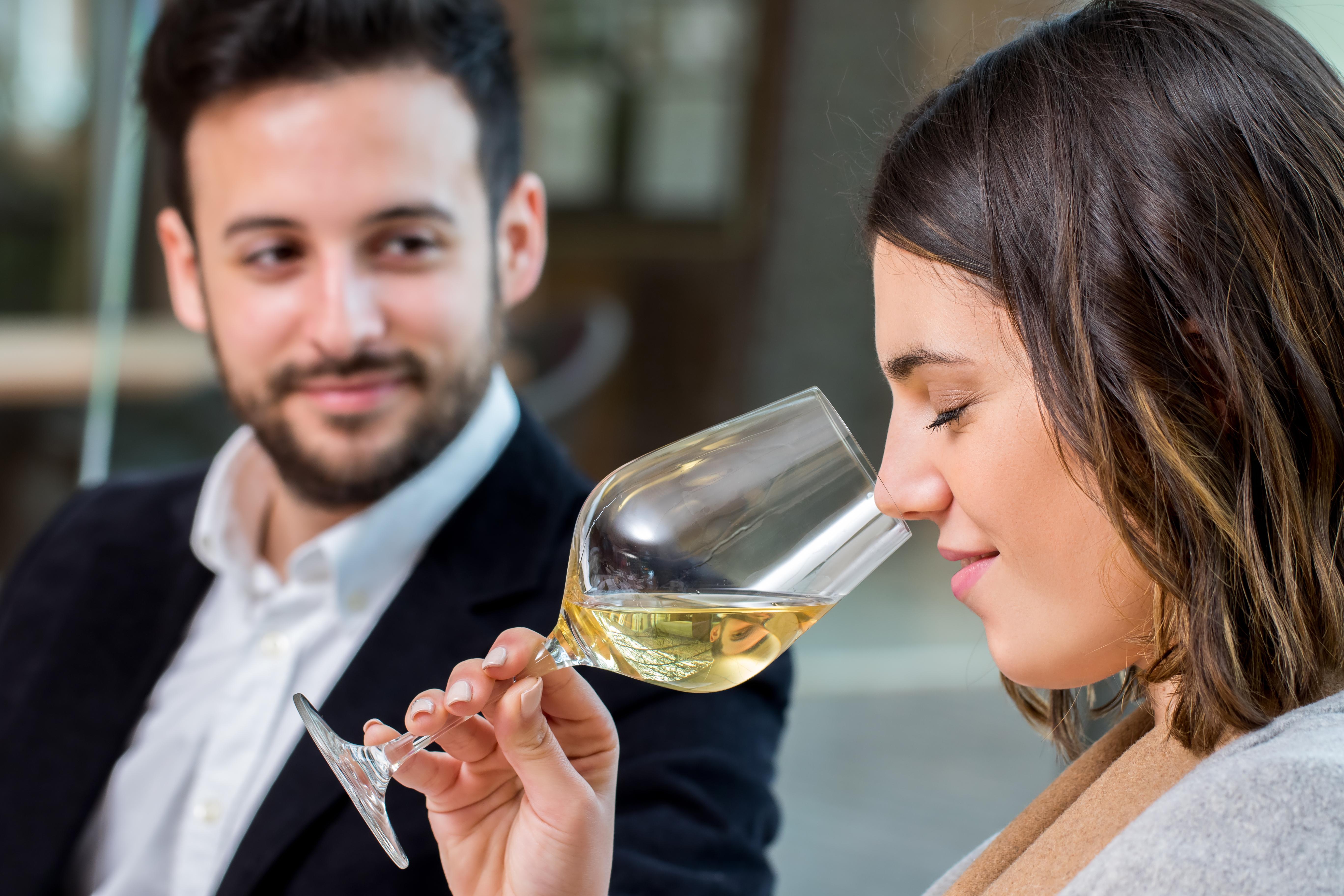 Begeisterung für Wein.