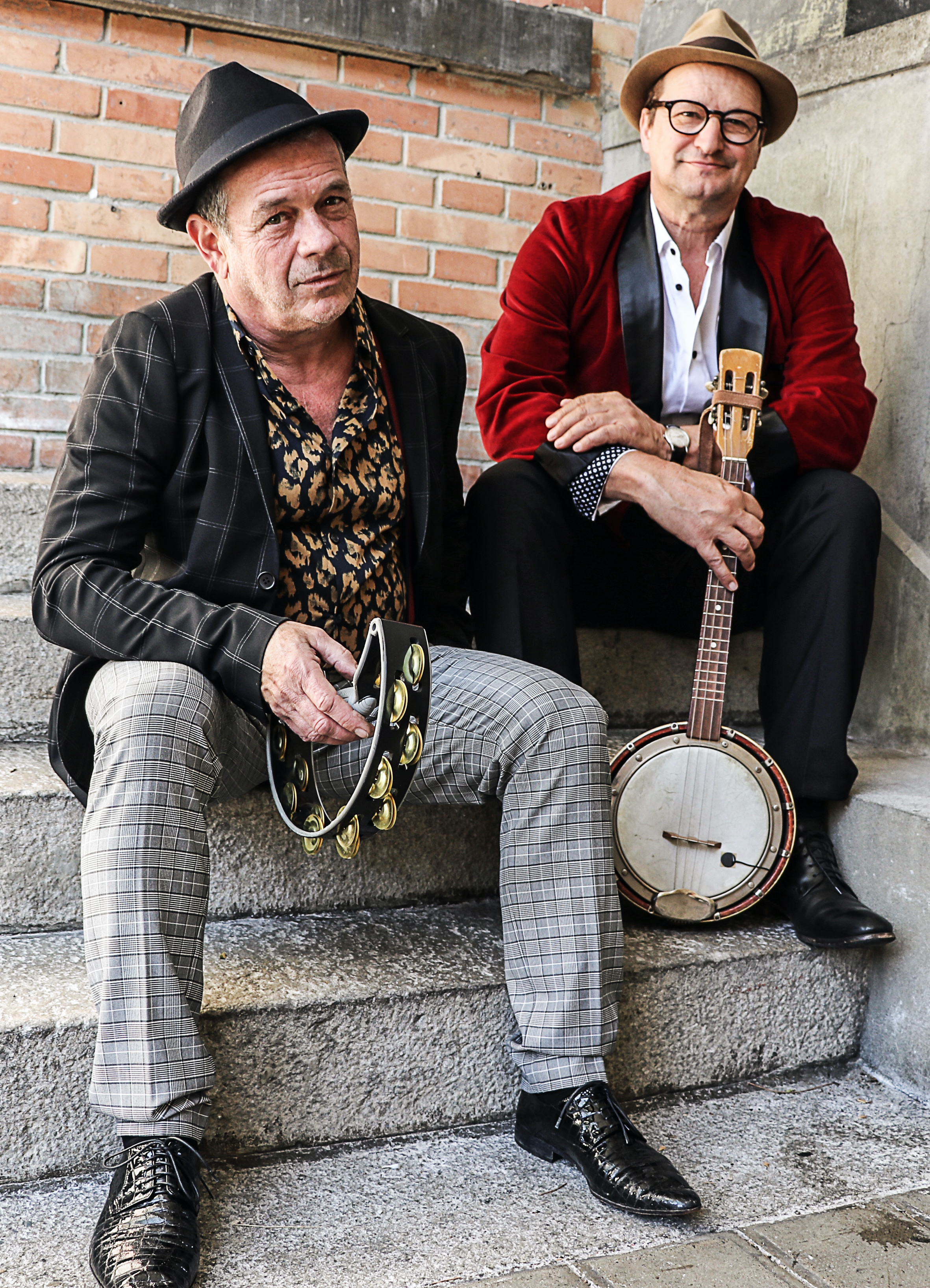 Les trois Suisses - Vagabund, Pressefoto 1