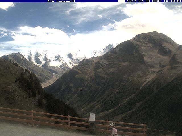 Pontresina Alp Languard Bergstation